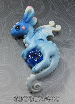 D 20 dungeons and dragons  sweet blue baby