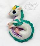 Spirited Away Haku white dragon necklace Ghibli