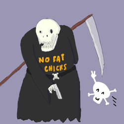 mr reaper and his friend