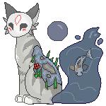 Feline Pondback Adopt - Sold by antsyunderdog