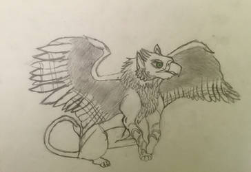 Griffin by DragonShadow2