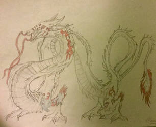 Chinese Dragon by DragonShadow2