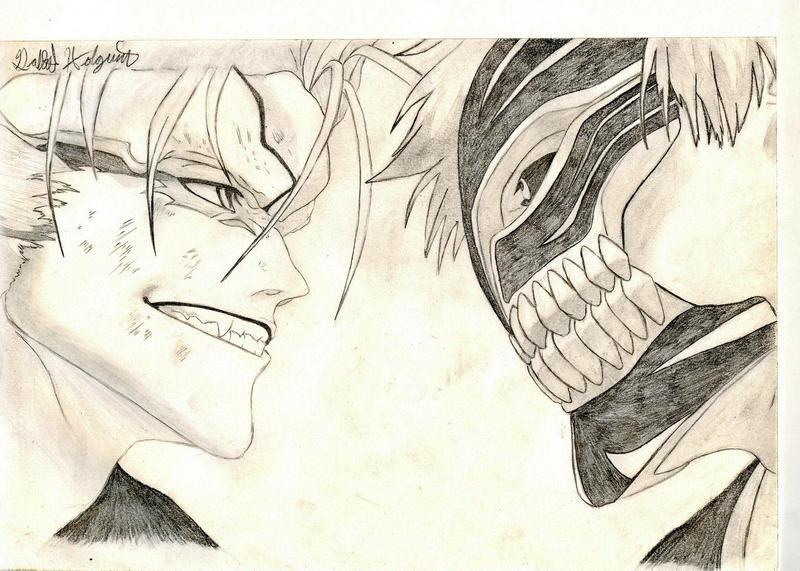 Bleach Ichigo vs Grimjaw