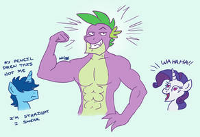 How Do I Draw Muscles? by GreenLinzerd