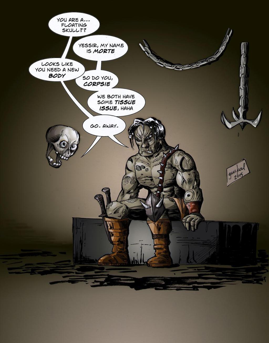 Morte from Planescape: Torment by AlexVinogradov on DeviantArt