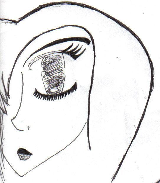 goth girl by Shadin