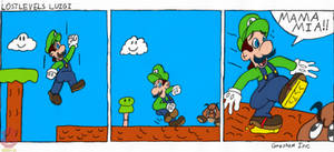 Lost Levels Luigi Comic