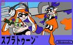 Splatoon Famicom Box art