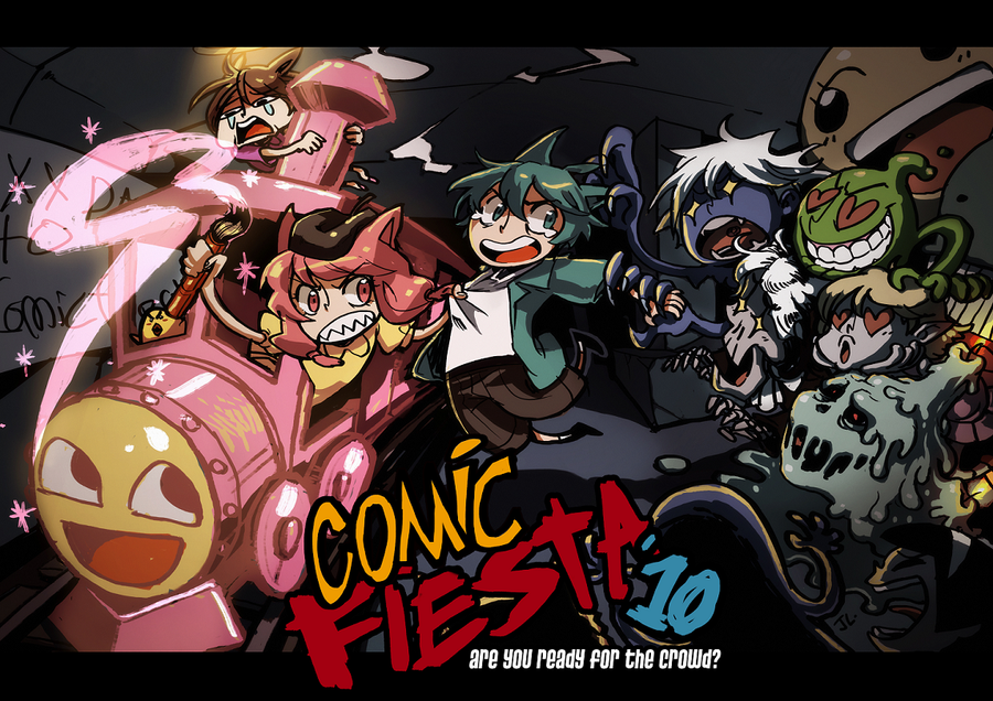 Comic Fiesta 2010 by JL89