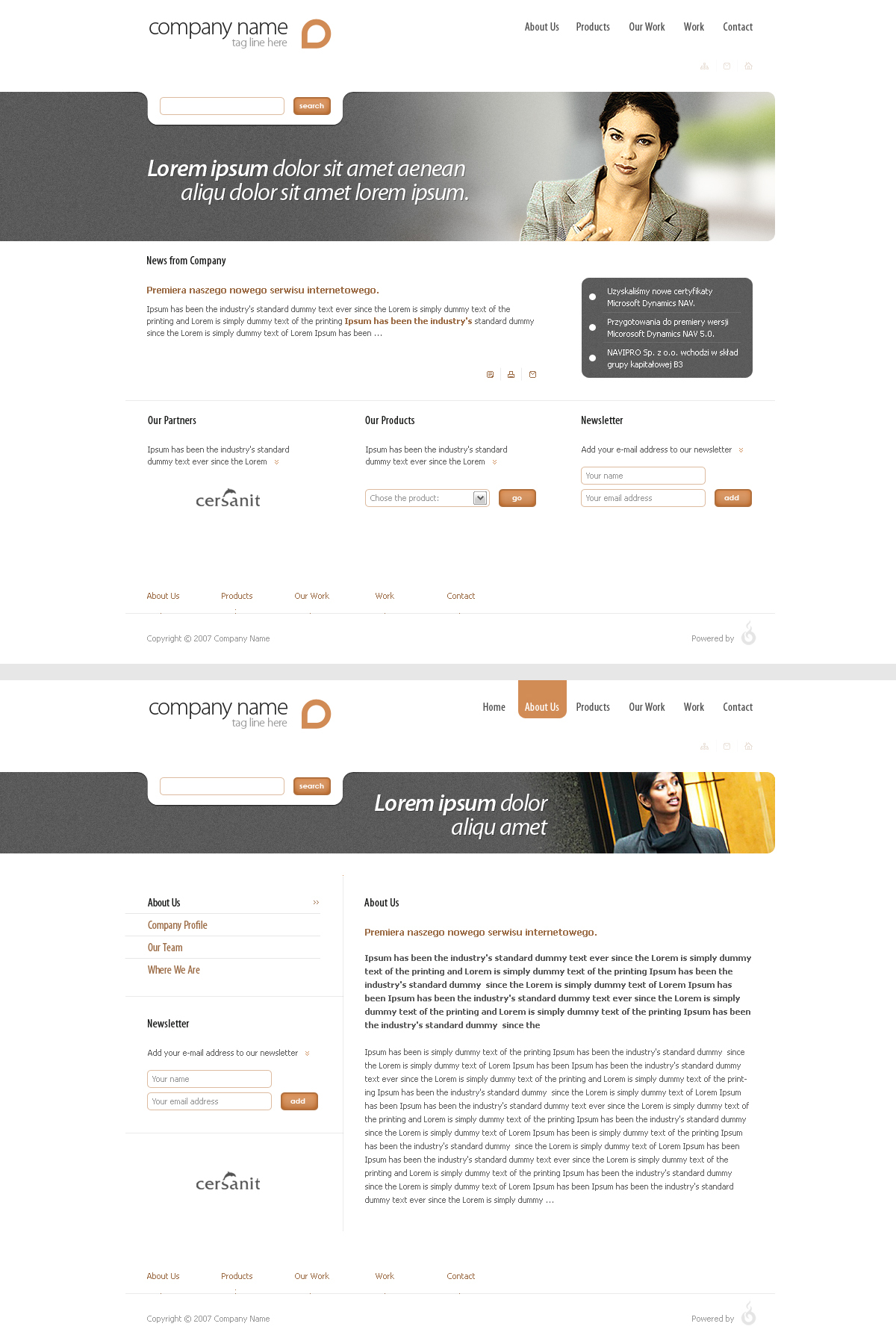 Simple web page design 2 by sone pl on deviantart for Web page architecture