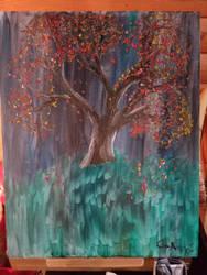 tree by WinrysArt