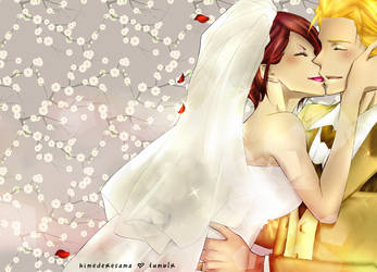 Misaki and Usui wedding by carly4015