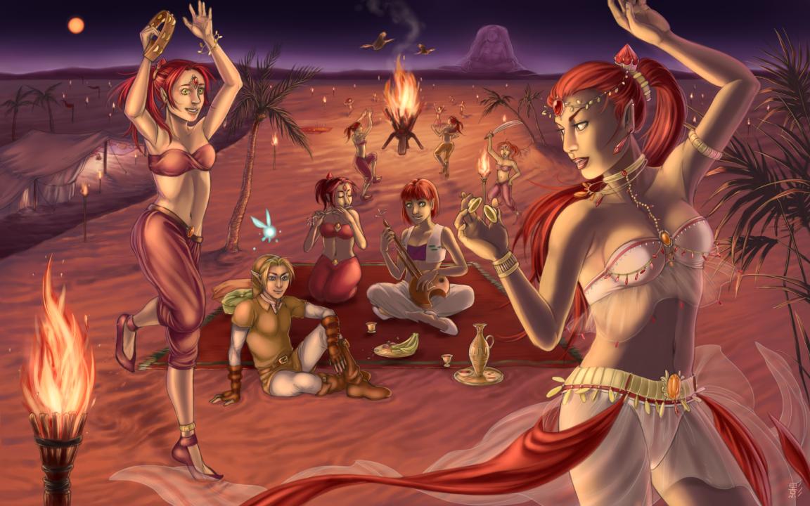 The Red Moon Festival by Blackdusk