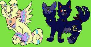 2 point adoptable doggies!! //CLOSED