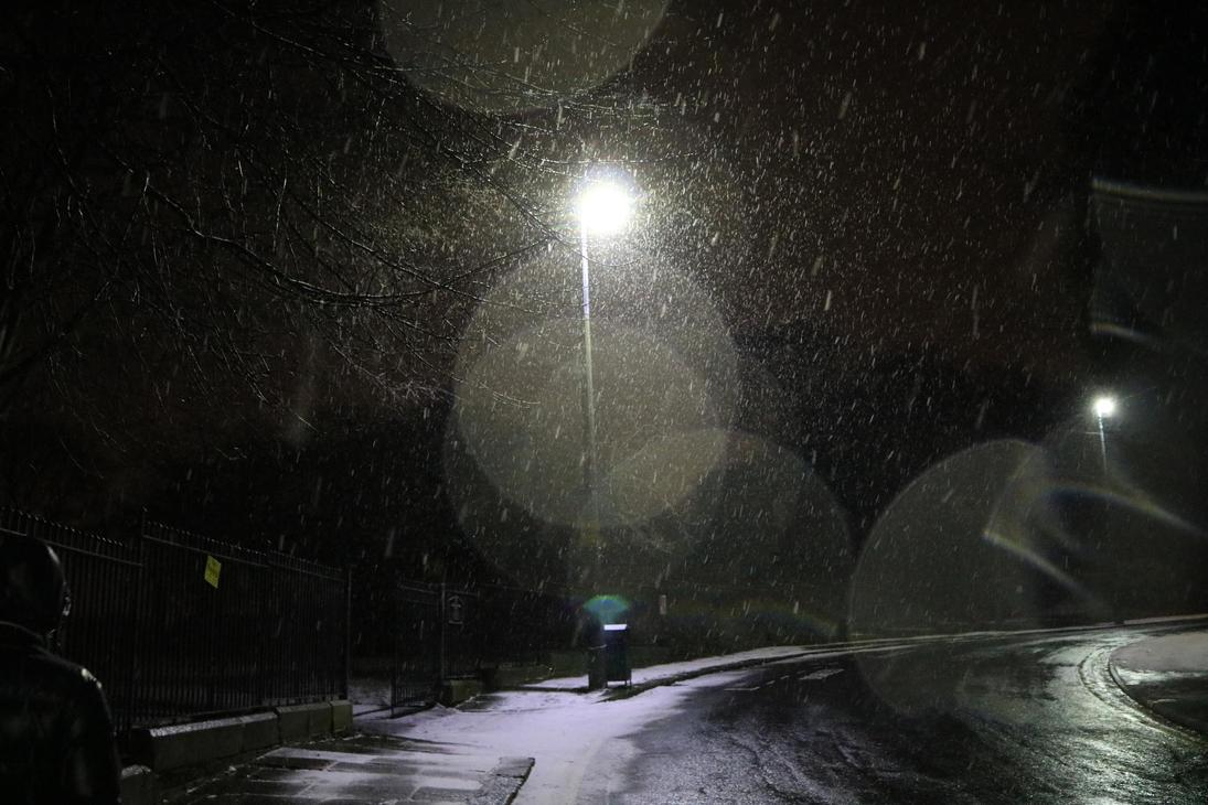 Snowy Light by RayneR27