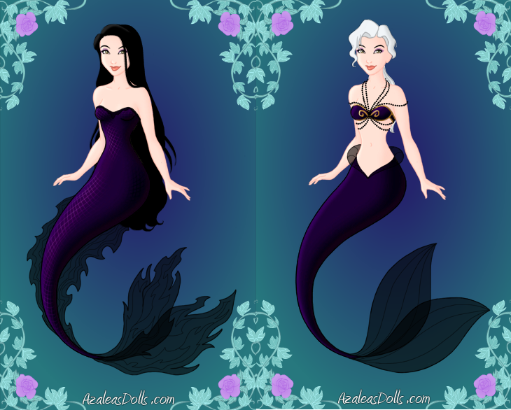 Orochimaru and Kabuto Mermaids by InuyashaRules6596