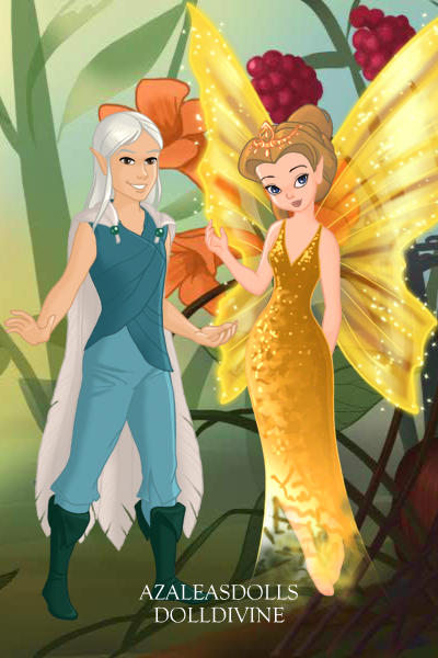 Queen Clarion  amp  Lord Milori  Tinkerbell secret of Wings  by Disney    Lord Milori And Queen Clarion Kiss