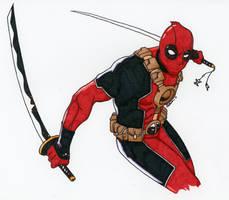 Deadpool by Austinpala