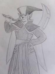 Chrono Cross Evil Lynx by cuyahoga-river