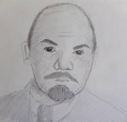 Lenin by cuyahoga-river