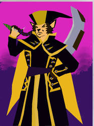 evil lynx color by cuyahoga-river