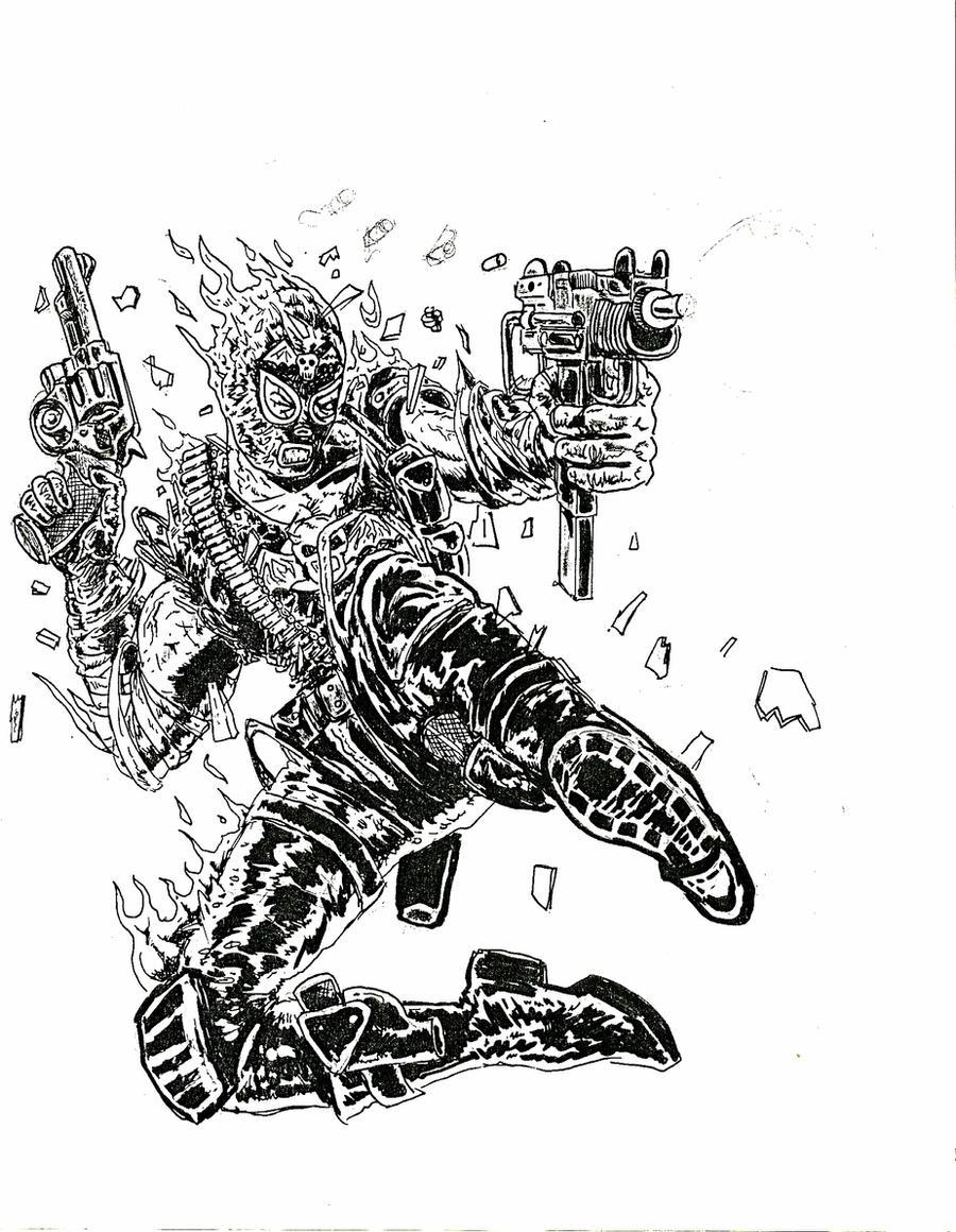 Blaze of glory 2 by EBrummer