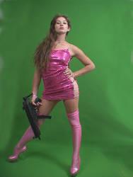 Deadly in pink by EBrummer