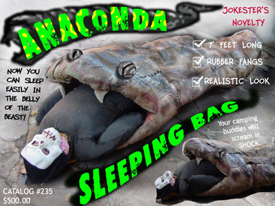 Anaconda sleeping bag by EBrummer
