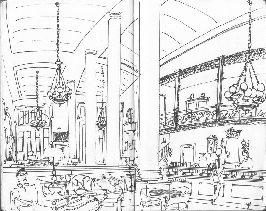 Cafe Panellinion by PhoenixGR