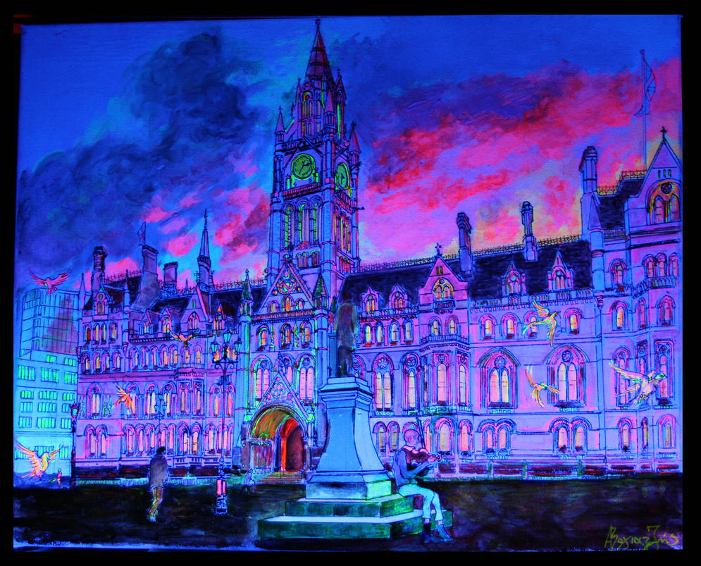 Manchester Town Hall by PhoenixGR