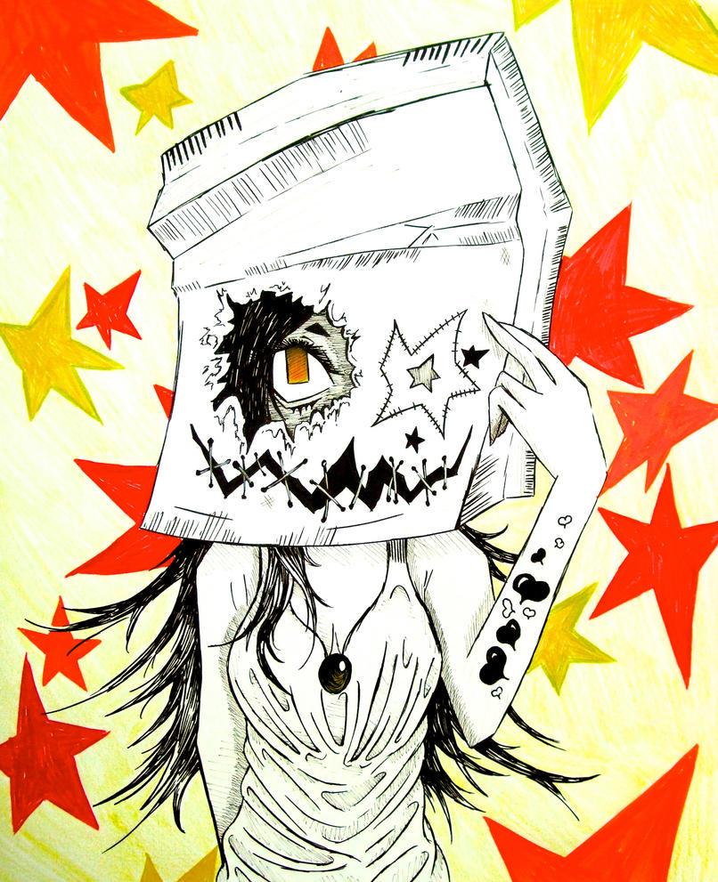 baghead by DoomBladeANGEL