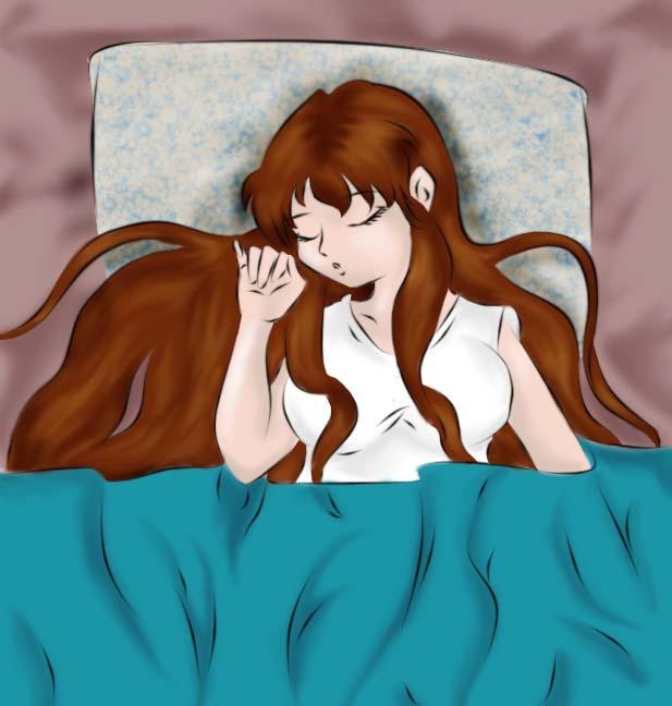 -Len-  Sleeping by Yukiko-chan