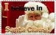 I belive in Santa Claus Stamp by Mutabi
