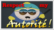 Respect Cartmans Autorite by Mutabi