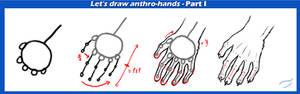 Anthro hand tutorial part I