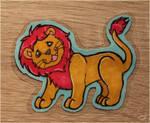 Little brave lion