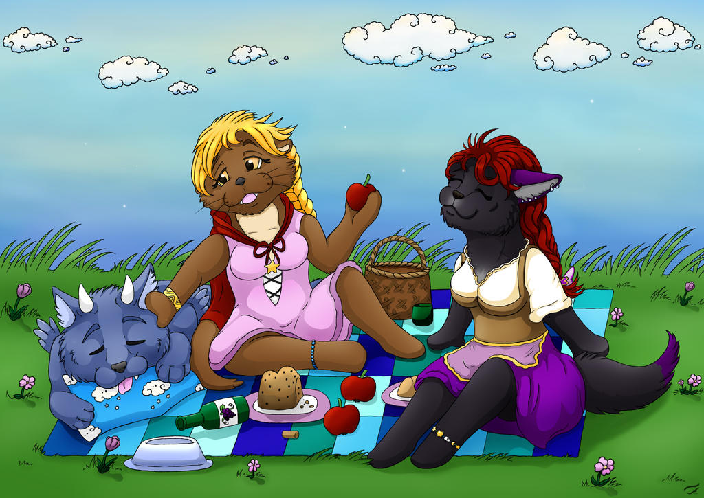 Perfect day for a picnic by Mutabi
