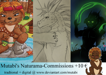 Offering Naturama Commissions by Mutabi