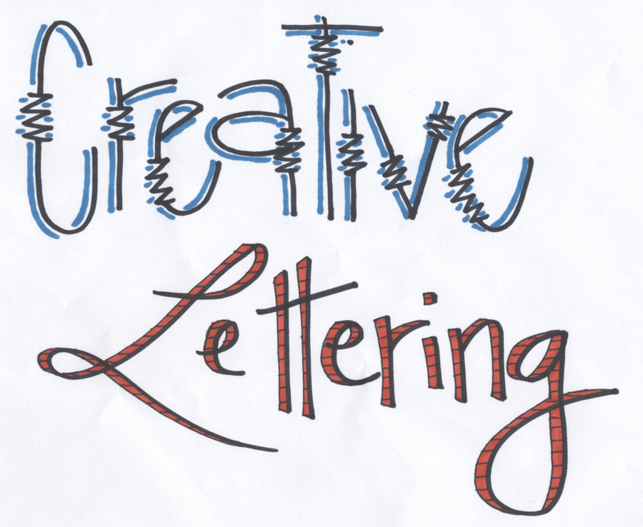 Font - Creative Lettering by Cheekydesignz on DeviantArt  Creative Lettering Styles