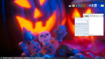 2014 Windows 8.1 Halloween Desktop by moonlightkisu