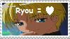 Ryou Fan Stamp by Blayzes