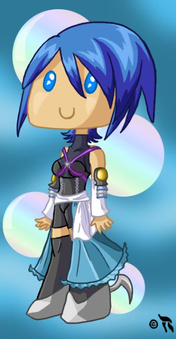 Aqua the Cutie by Blayzes