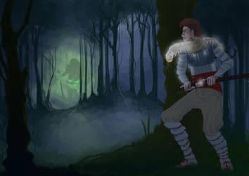 Aoi, the nightmare hunter by Amene