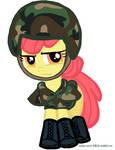 Soldier Apple Bloom