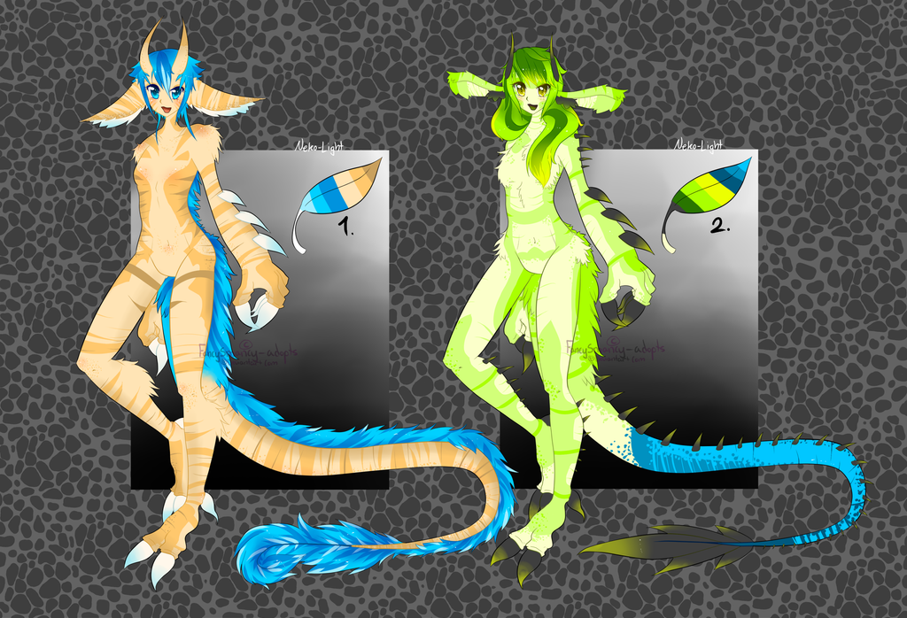 Repmalians ORIGINAL species set price (OPEN) by FancySmancy-adopts