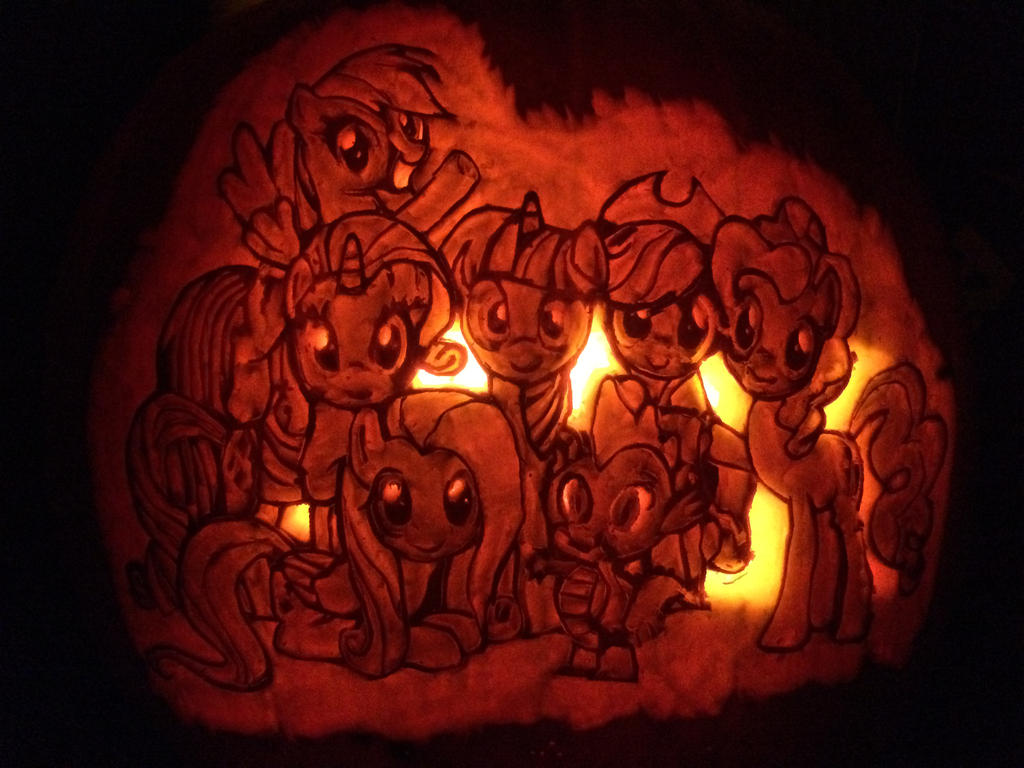 TagsMy Little Pony Free Stencil Gallery My Rainbow Dash Cutie Mark Orange And Black Pumpkins