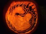 Monster Hunter Lagiacrus Pumpkin