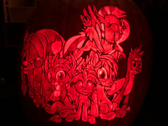 MLP Student Six Pumpkin by MidnightRushPony