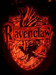 Ravenclaw Crest Pumpkin
