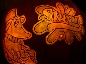 Slurm pumpkin 2019